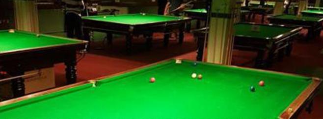 Snooker banner