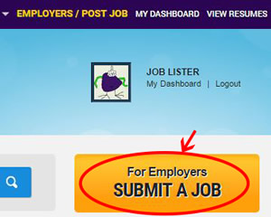 JobLister - Submit a Job